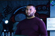 Armenian world weightlifting champion Simon Martirosyan charged