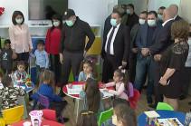 Ռինդ համայնքում բացվել է մանկապարտեզ. վարչապետը ծանոթացել է պայմաններին  (Տեսանյութ)