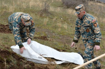 Artsakh rescuers found two bodies of killed Armenian servicemen
