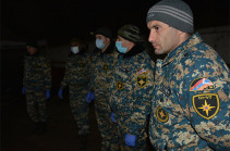 Body search operation continues today in Ishkhanadzor community, Kashatagh region
