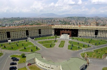 """Armenia's armed forces will not participate in NATO's """"Defender Europe 21"""" drills – MOD"""
