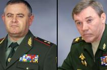 Armenian, Russian chiefs of General Staffs meet in Moscow