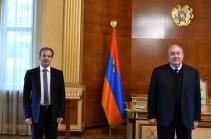 ՖԻԴԵ նախագահ, «Սկոլկովո» հիմնադրամի նախագահ Արկադի Դվորկովիչը Երևանում է