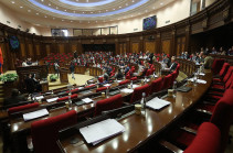 Armenia's parliament discusses report on April 2016 war at closed session