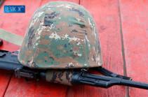 18-ամյա զինծառայող է մահացել ծառայակցի կողմից զենքի օգտագործման կանոնների խախտման հետևանքով. ՀՀ ՊՆ