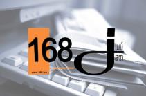 «168 Ժամ». Մովսես Հակոբյանին չի կարելի, իսկ Փաշինյանին կարելի՞ է պետական գաղտնիք պարունակող տեղեկություններ հրապարակել
