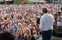 В митинге возглавляемого Робертом Кочаряном блока «Армения» приняли участие  порядка 33 тысяч человек – Past.am