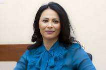 Վարդուհի Գրիգորյանը նշանակվել է առողջապահության նախարարության գլխավոր քարտուղար