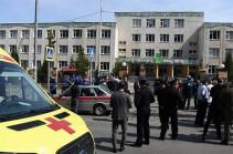 Nine killed, 10 injured in Kazan school shooting