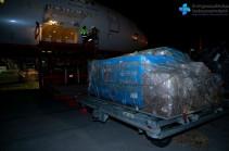 14 հազար երկրորդ դեղաչափ «Sputnik-V» պատվաստանյութն այս գիշեր հասել է Հայաստան