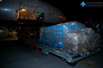14,000 second doses of Sputnik V vaccine delivered to Armenia