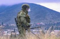 Российские саперы провели очистку местности от взрывоопасных предметов в районе населённого пункта Матагиз