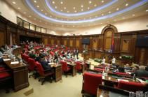 Парламент Армении принял заявление о кризисной ситуации в Сюнике, Гегаркунике и Вайоц Дзоре