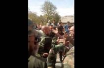 Մի խումբ անձինք փակել էին Գորիս-Ստեփանակերտ ճանապարհը. 8 անձ բերման է ենթարկվել, մեկը՝ ձերբակալվել