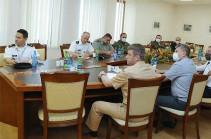 Ռազմական կցորդներն այցելել են պաշտպանության նախարարություն