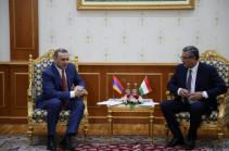 Ադրբեջանական կողմի պահանջները որևէ փաստական հիմք չունեն. Արմեն Գրիգորյանը Տաջիկստանի գործընկերոջն է ներկայացրել հայ-ադրբեջանական սահմանին տիրող իրավիճակը