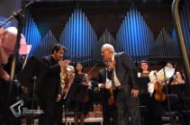 Երվանդ Երկանյանի թիվ 7 սիմֆոնիայի կատարումը կոմպոզիտորը և դիրիժորը նվիրեցին 44-օրյա պատերազմում նահատակված հերոսների հիշատակին