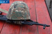 Զորամասում հայտնաբերվել է ժամկետային զինծառայողի դի՝ գլխի շրջանում հրազենային վիրավորումով. ՊՆ