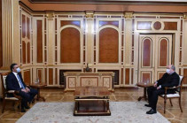 Armenia President, Ombudsman meet, discuss situation on Armenia's border