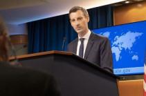 Վաշինգտոնը Ադրբեջանին կոչ է անում անմիջապես ազատ արձակել բոլոր ռազմագերիներին և վերադարձնել իր ուժերը մայիսի 11-ի դրությամբ ունեցած դիրքեր