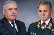 Russia reinforces military cooperation with Armenia: Russian, Armenian DMs meet in Moscow