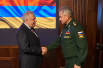 Harutyunyan, Shoigu consider possible ways of resolution of the situation on Armenian-Azerbaijani border, agreed over necessary steps