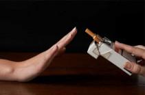 Հայաստանում 855 հազար անհատից, ովքեր կորոնավիրուսի ծանր ընթացքի ռիսկի ներքո են, մոտ 14%-ն ունի ուղեկցող հիվանդություն, որ առաջացել է ծխախոտի օգտագործման հետևանքով
