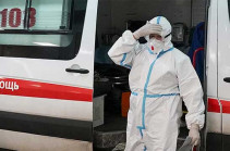 Ռուսաստանում մեկ օրում հայտնաբերվել է կորոնավիրուսային վարակի 8475 դեպք