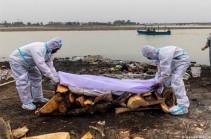 Հնդկաստանում Գանգես գետից դուրս են բերել COVID-19-ից վեց մահացածի դի