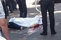 Man shot dead in downtown Yerevan