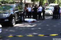 Identity of person killed in downtown Yerevan revealed