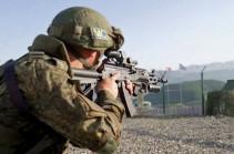 Российские миротворцы провели тренировку по обороне наблюдательного поста в Нагорном Карабахе