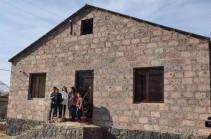 Viva MTS: Housewarming in Arpi village