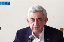 О предоставлении коридора и речи быть не может – Серж Саргсян