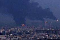 В Тегеране вспыхнул мощный пожар на нефтеперерабатывающем заводе