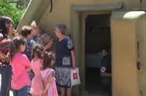 Российские миротворцы провели гуманитарно-медицинскую акцию в населенном пункте Бадара Нагорного Карабаха