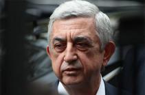 Serzh Sargsyan offers condolences on passing of Vilen Galstyan