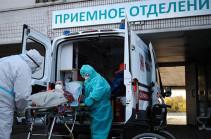 Russia reports over 9,400 daily COVID-19 cases — crisis center