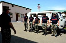 Զինծառայողների աճյունների որոնողական աշխատանքները փրկարարական մեկ ջոկատով այսօր շարունակվում են Վարանդայի և Ջրականի շրջաններում