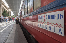 Georgia reports about opening railway communication with Armenia