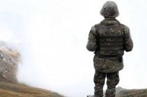 ՀՀ ԶՈւ պայմանագրային զինծառայողը հայտնվել է Ադրբեջանի ԶՈւ վերահսկողության տակ գտնվող տարածքում. ՊՆ