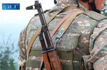 Lost Armenian serviceman handed to Armenian side - MOD