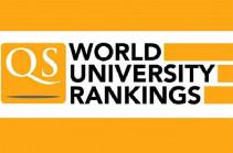 ԵՊՀ-ն ներառվել է աշխարհի լավագույն 1000 բուհերի շարքում