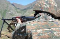 Հայկական ստորաբաժանումները միջոցներ են ձեռնարկել ադրբեջանական ԶՈՒ կողմից իրականացվող ինժեներական աշխատանքները դադարեցնելու ուղղությամբ