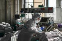 Russia registers 13,721 coronavirus cases in 24 hours, says crisis center