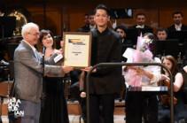 Խաչատրյանի անվան միջազգային մրցույթում հաղթող է ճանաչվել ճապոնացի դիրիժոր Դաիչի Դեգուչին