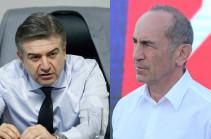 Robert Kocharyan ready to offer a post to ex-PM Karen Karapetyan