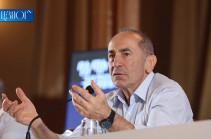 Власти обещали бороться против коррупции, но сегодня сами погрязли в коррупции – Роберт Кочарян
