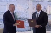 Баку и Анкара будут действовать сообща в случае угрозы со стороны