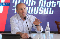 Armenia's second president says serious process to start with Russia